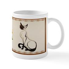 Sitting Siamese Kitty Mug