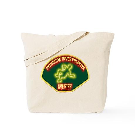 Sheriff Homicide Investigator Tote Bag