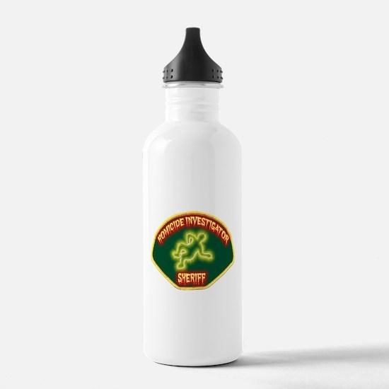Sheriff Homicide Investigator Water Bottle