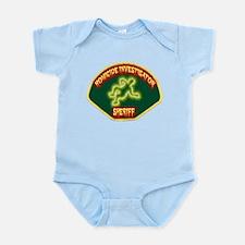 Sheriff Homicide Investigator Infant Bodysuit