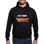 GO DEEP - Hoodie (dark)