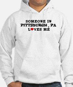 Someone in Pittsburgh Hoodie