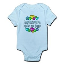 Square Dancing Infant Bodysuit