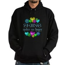 Skiing Happiness Hoody