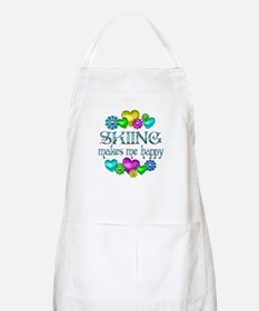 Skiing Happiness Apron