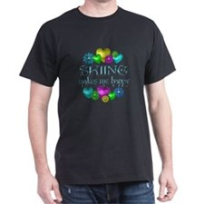 Skiing Happiness T-Shirt
