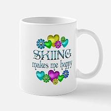 Skiing Happiness Mug