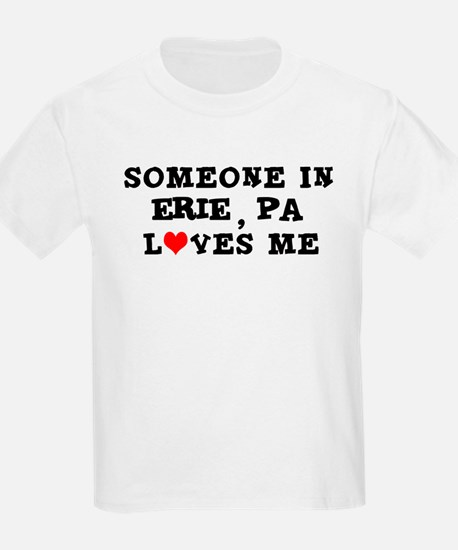 Someone in Erie Kids T-Shirt