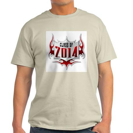 Class of 14 Flames Light T-Shirt