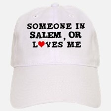 Someone in Salem Baseball Baseball Cap