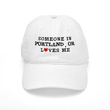 Someone in Portland Baseball Cap