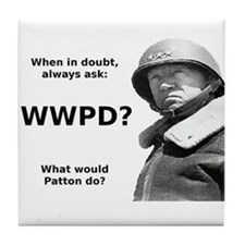 Patton Tile Coaster