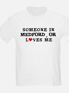 Someone in Medford Kids T-Shirt