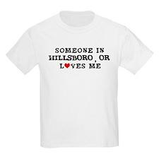 Someone in Hillsboro Kids T-Shirt