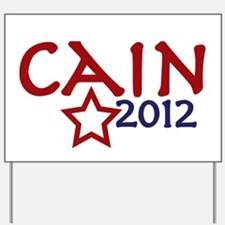 Cain President 2012 Yard Sign