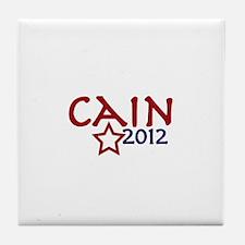 Cain President 2012 Tile Coaster