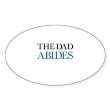 The Dad Abides Decal