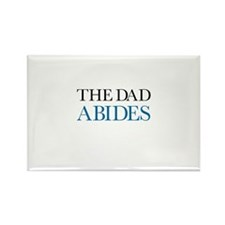 The Dad Abides Rectangle Magnet (10 pack)