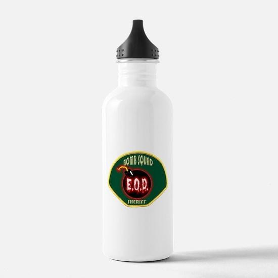 Sheriff Bomb Squad Water Bottle