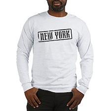 New York City Title Long Sleeve T-Shirt