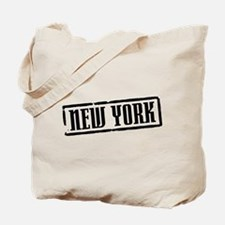 New York City Title Tote Bag