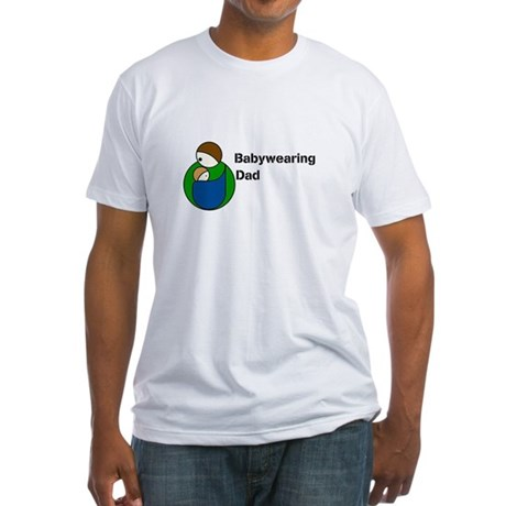 Babywearing Dad Fitted T-Shirt