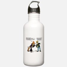 Cowboy & Judge Water Bottle