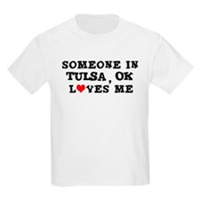 Someone in Tulsa Kids T-Shirt