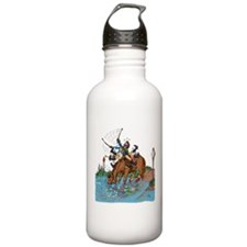 Horse blowing Bubbles Water Bottle