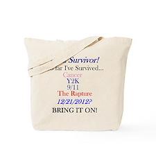 Cute Survivor 12 21 12 Tote Bag