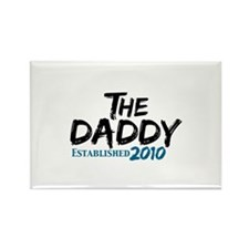 The Daddy Est 2010 Rectangle Magnet