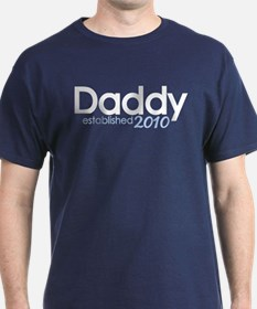 New Daddy Established 2010 T-Shirt