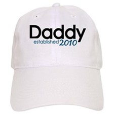 New Daddy Established 2010 Baseball Cap