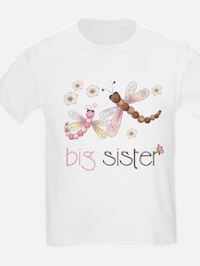 big sister dragonflies T-Shirt