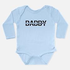 Daddy Established 2010 Long Sleeve Infant Bodysuit