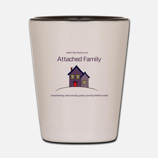 Attached Family Shot Glass