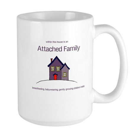 Attached Family Large Mug