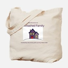 Attached Family Tote Bag