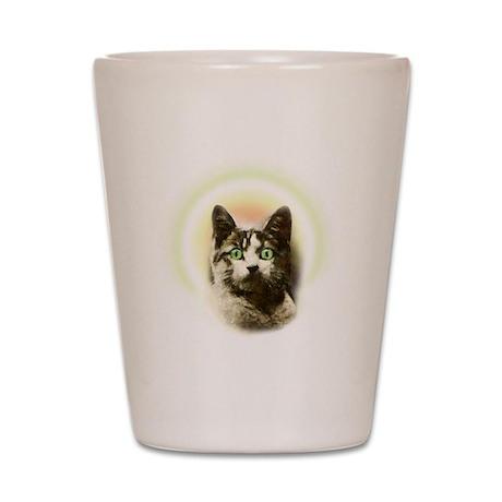 God Cat Shot Glass