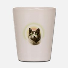 God Cat Shot Glass