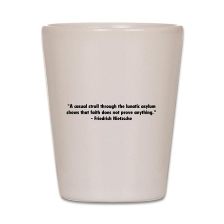 Meaning of Faith Shot Glass