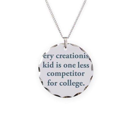 Creationist's Kid Necklace Circle Charm