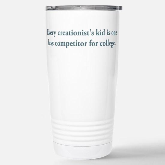 Creationist's Kid Stainless Steel Travel Mug