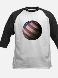 USA Volleyball Kids Baseball Jersey