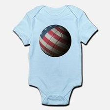 USA Volleyball Infant Bodysuit