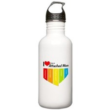 I <3 Attachment Stainless Water Bottle 1.0L