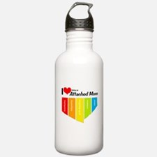 I <3 Attachment Water Bottle