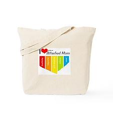 I <3 Attachment Tote Bag