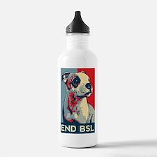 Cute Breed specific legislation Sports Water Bottle