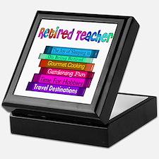 Retired Teacher Keepsake Box